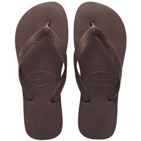 havaianas Top Flips dark brown